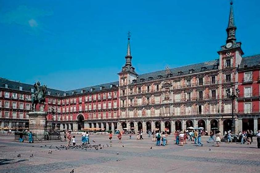 Plaza España Madrid