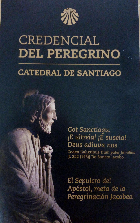 The pilgrims' certificates - Pilgrims' Credential