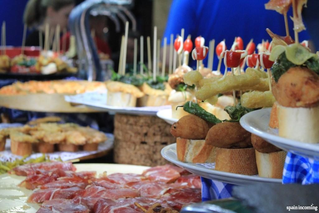 North of Spain cuisine: pintxos