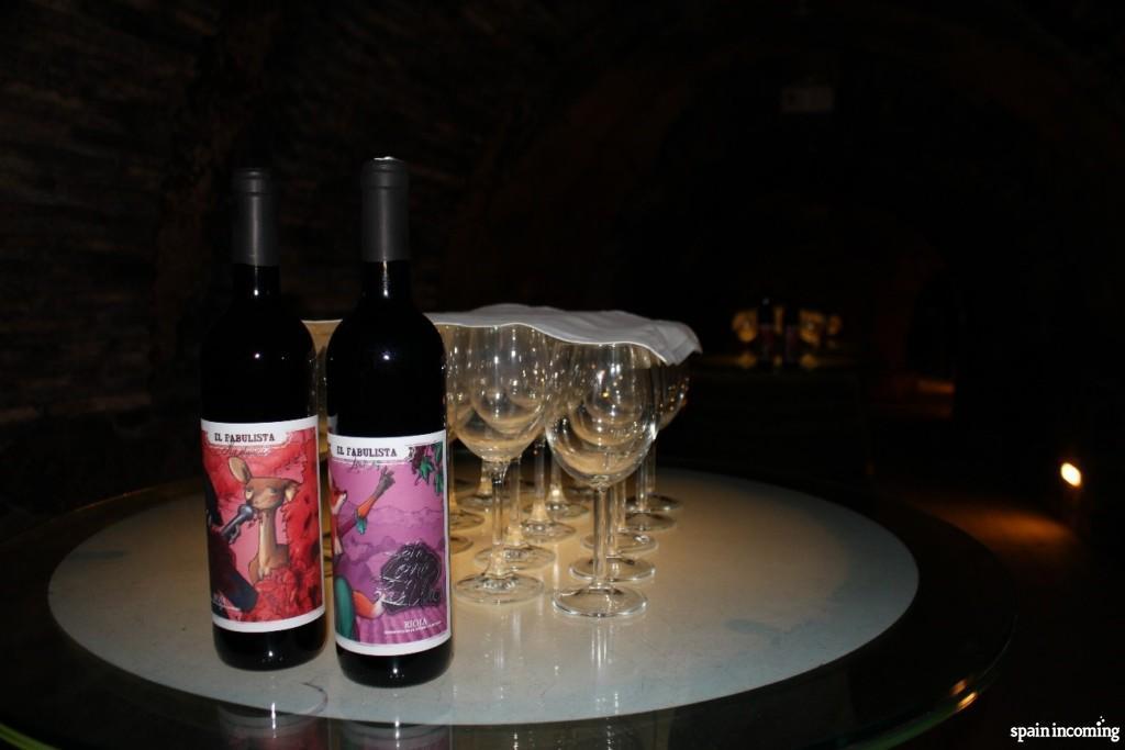 Laguardia Cave Winery - wine tasting