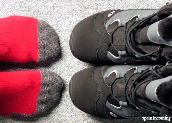 Camino de Santiago tips: feet care