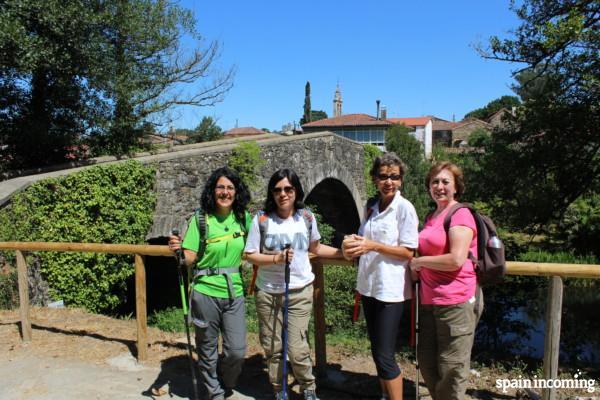 Camino de Santiago tips: feet care - carry a small backpack