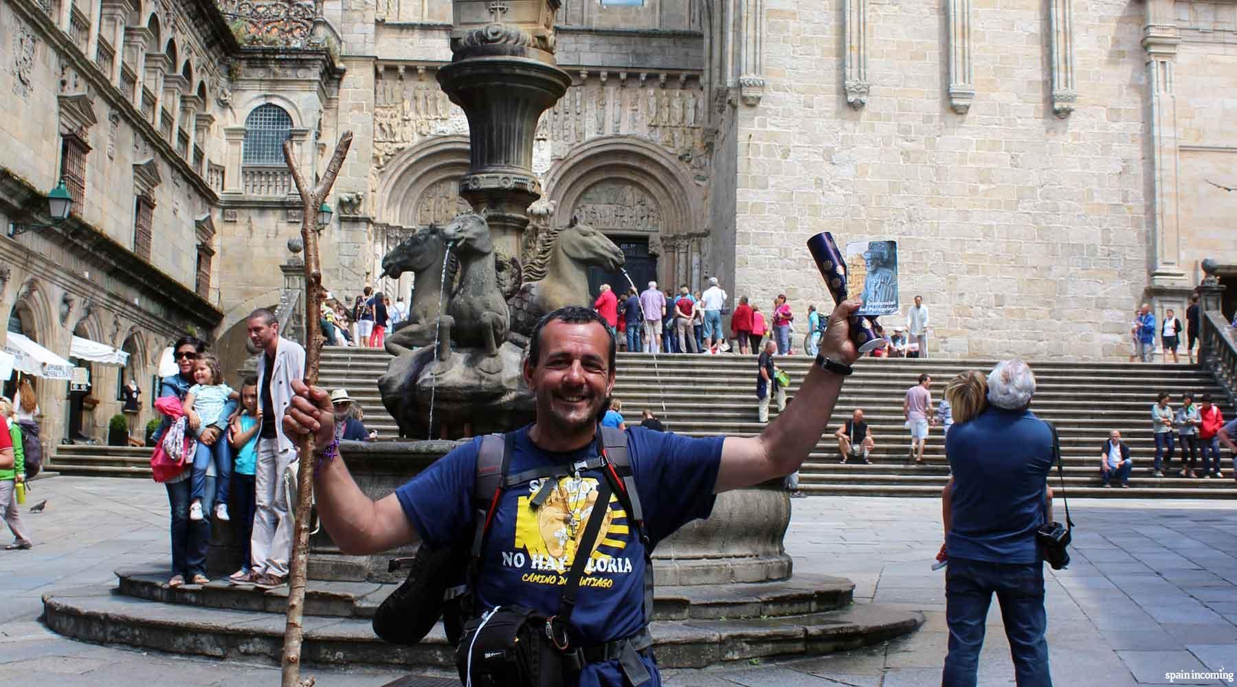 The Credential, the Pilgrim's Passport - Santiago de Compostela
