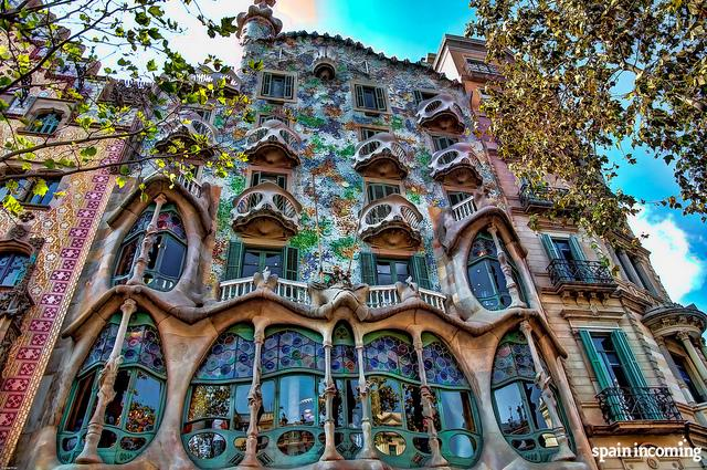 10 ideas for organize your trip to Spain - Casa Batlló by Gaudí, Barcelona