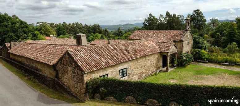 The Camellia route in Galicia - Pazo da Saleta