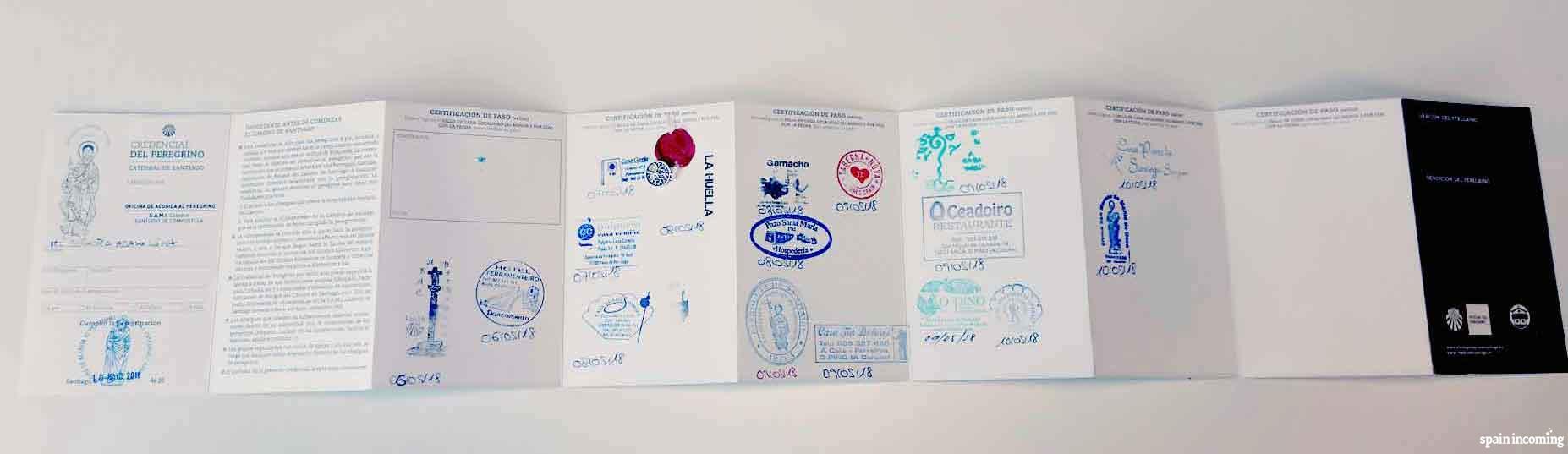 The Credential, the Pilgrim's Passport - The Credential