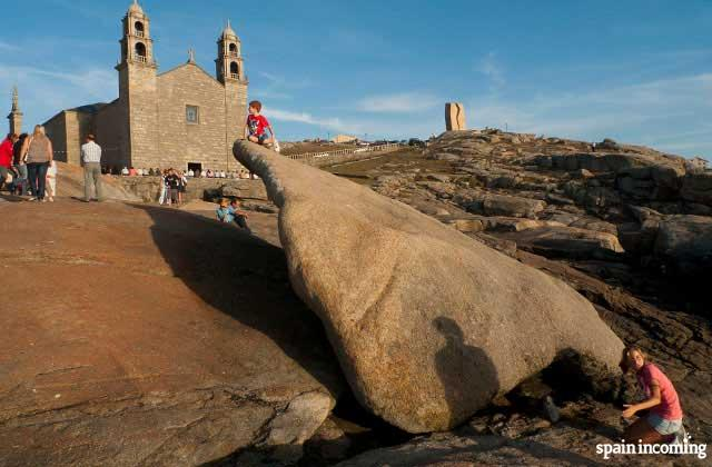 First stop of your Fisterra Excursion: Muxia- the sanctuary and the magical stones