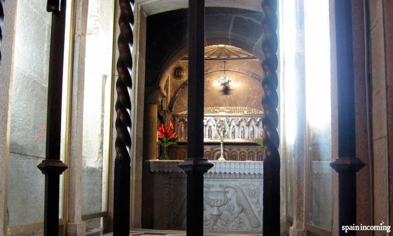 The history of the Camino de Santiago - Saint James tomb nowadays at the Cathedral