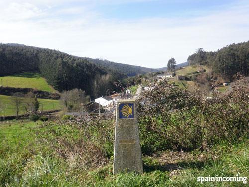 North Way - Villamartín Grande village