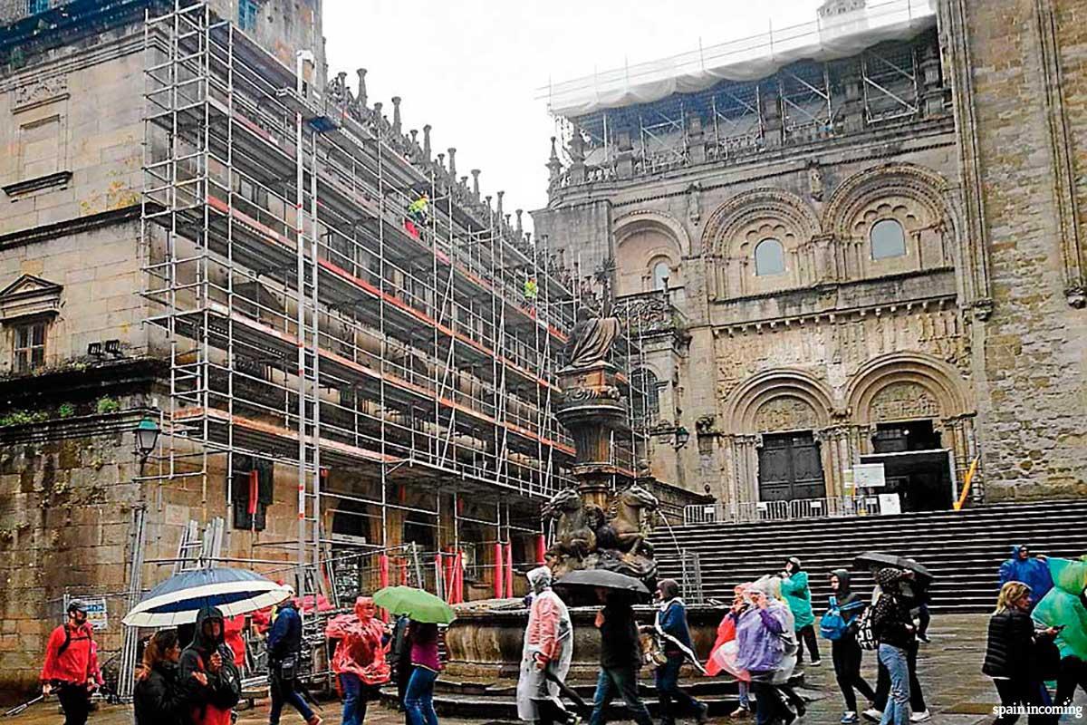 Cloister scaffolding©El Correo Gallego