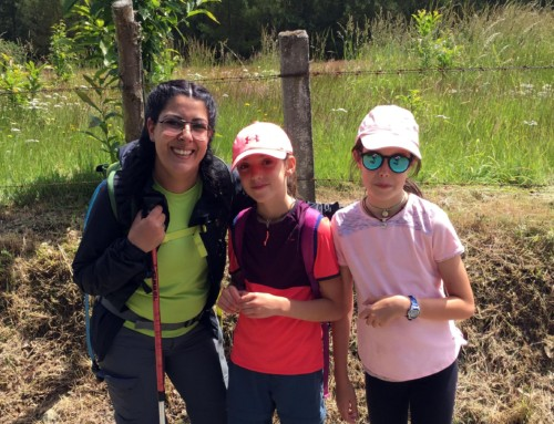 Walking the Way of Saint James with children