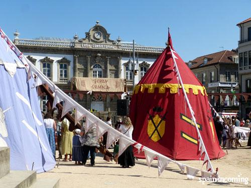 Summer festivities in Galicia- go back to medieval times!