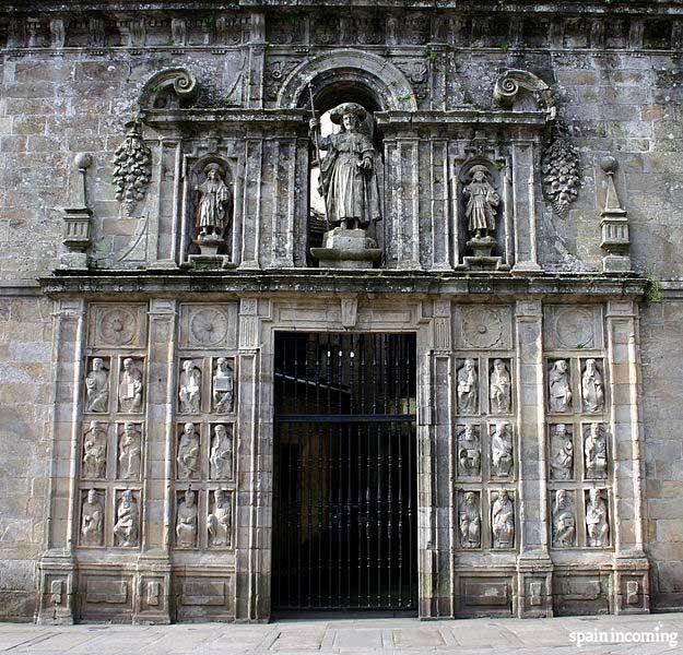 Santiago Camino-Holy Year, Santiago de Compostela, holy door