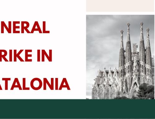 General strike in Catalonia