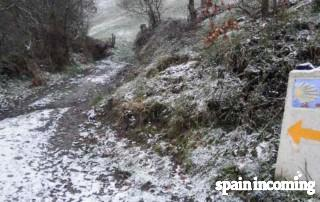 Walking the Camino in December